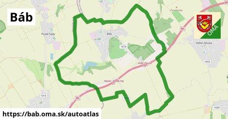 ikona Mapa autoatlas  bab