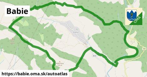 ikona Mapa autoatlas  babie