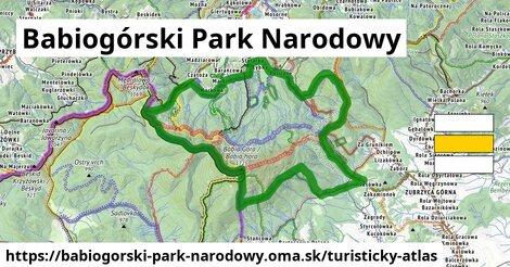ikona Turistická mapa turisticky-atlas  babiogorski-park-narodowy