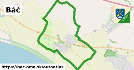 ikona Mapa autoatlas  bac