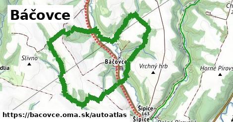 ikona Mapa autoatlas  bacovce