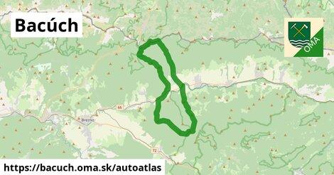 ikona Mapa autoatlas  bacuch