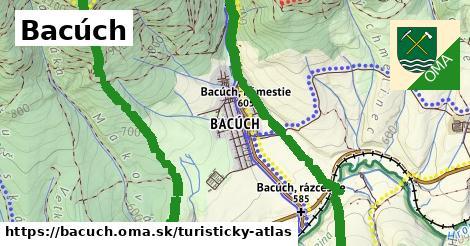 ikona Turistická mapa turisticky-atlas  bacuch