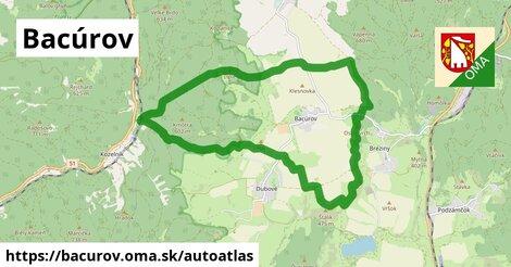 ikona Mapa autoatlas  bacurov