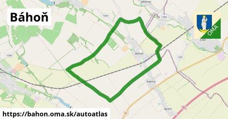 ikona Mapa autoatlas  bahon