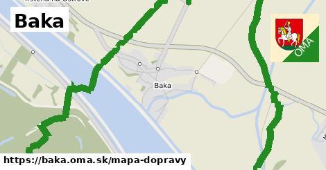 ikona Mapa dopravy mapa-dopravy  baka