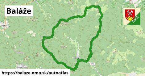 ikona Mapa autoatlas  balaze