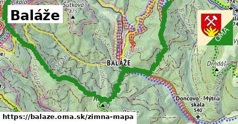 ikona Zimná mapa zimna-mapa  balaze