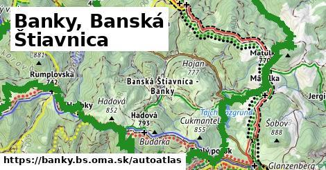 ikona Mapa autoatlas  banky.bs