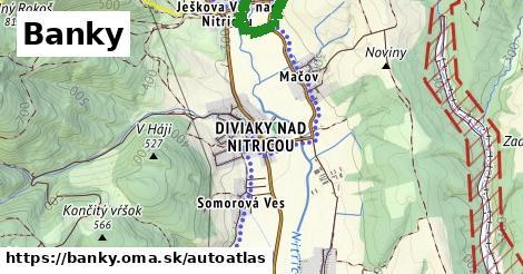 ikona Mapa autoatlas  banky