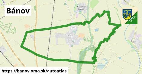 ikona Mapa autoatlas  banov