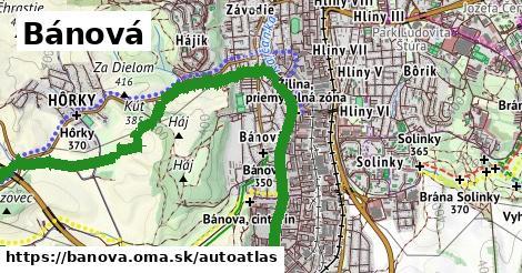 ikona Mapa autoatlas  banova