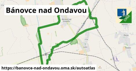 ikona Mapa autoatlas  banovce-nad-ondavou