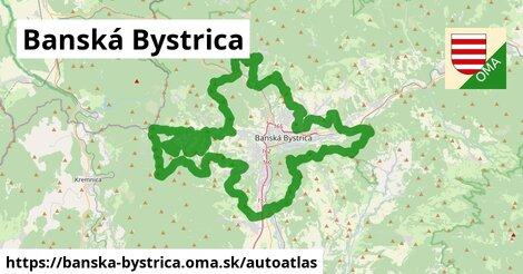 ikona Mapa autoatlas  banska-bystrica
