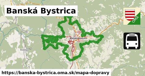 ikona Mapa dopravy mapa-dopravy  banska-bystrica