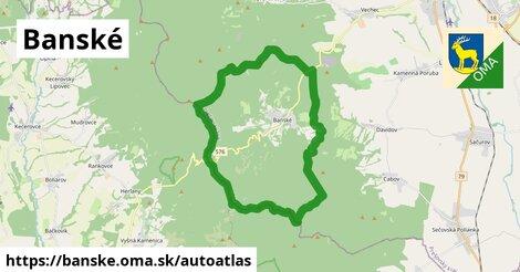 ikona Mapa autoatlas  banske