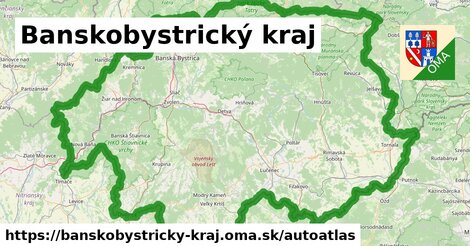 ikona Mapa autoatlas  banskobystricky-kraj