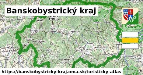 ikona Turistická mapa turisticky-atlas  banskobystricky-kraj