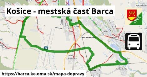 ikona Mapa dopravy mapa-dopravy  barca.ke