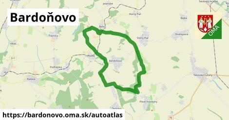 ikona Mapa autoatlas  bardonovo