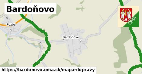 ikona Mapa dopravy mapa-dopravy  bardonovo