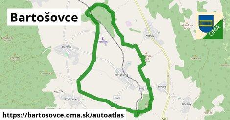ikona Mapa autoatlas  bartosovce