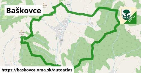 ikona Mapa autoatlas  baskovce