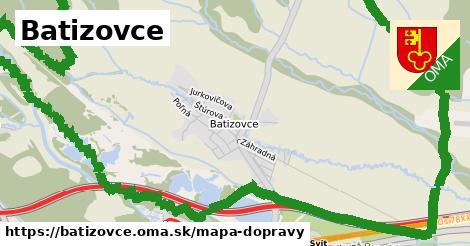 ikona Mapa dopravy mapa-dopravy v batizovce