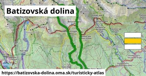ikona Turistická mapa turisticky-atlas  batizovska-dolina