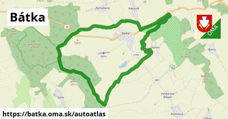 ikona Mapa autoatlas  batka