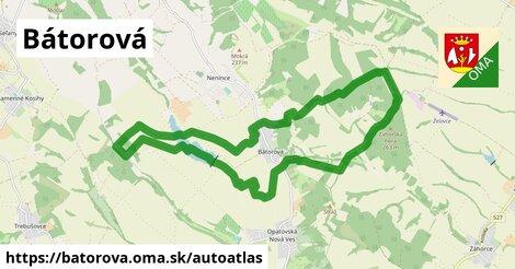 ikona Mapa autoatlas  batorova