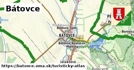 ikona Turistická mapa turisticky-atlas  batovce