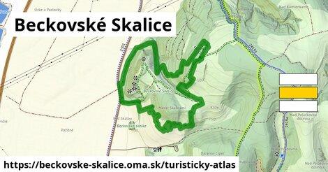 ikona Turistická mapa turisticky-atlas  beckovske-skalice