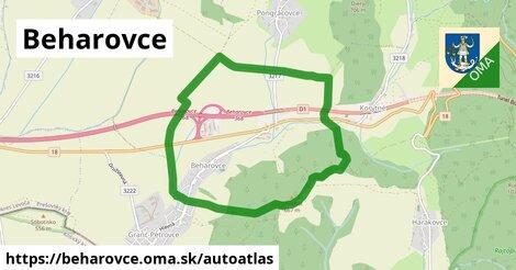 ikona Mapa autoatlas  beharovce