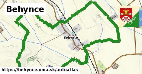 ikona Mapa autoatlas  behynce