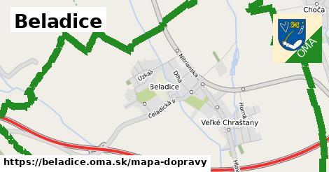ikona Mapa dopravy mapa-dopravy v beladice