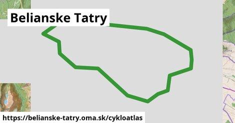 ikona Cykloatlas cykloatlas  belianske-tatry