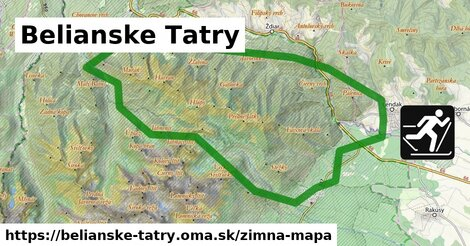 ikona Zimná mapa zimna-mapa v belianske-tatry