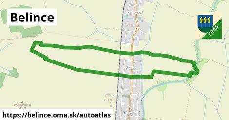 ikona Mapa autoatlas  belince