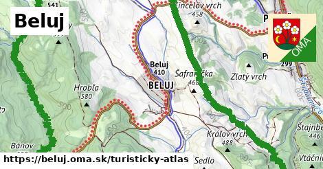 ikona Turistická mapa turisticky-atlas  beluj