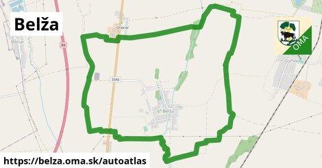ikona Mapa autoatlas  belza