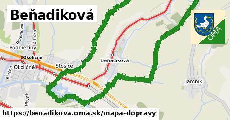 ikona Mapa dopravy mapa-dopravy  benadikova