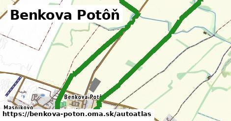 ikona Mapa autoatlas  benkova-poton