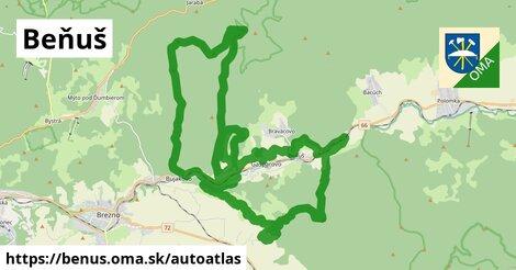 ikona Mapa autoatlas  benus