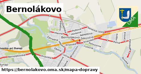 ikona Mapa dopravy mapa-dopravy  bernolakovo