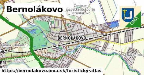 ikona Turistická mapa turisticky-atlas  bernolakovo