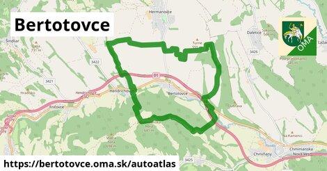 ikona Mapa autoatlas  bertotovce
