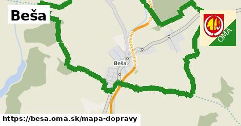 ikona Mapa dopravy mapa-dopravy  besa