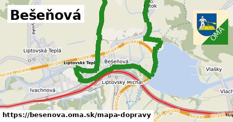 ikona Mapa dopravy mapa-dopravy  besenova