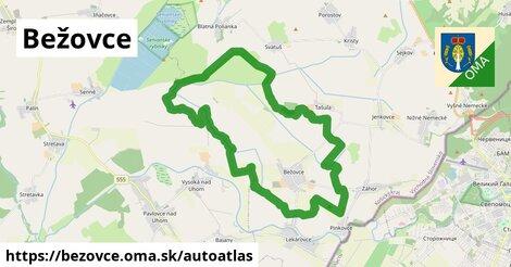 ikona Mapa autoatlas  bezovce